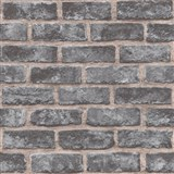 Vliesové tapety na zeď Exposure cihly tmavě šedé