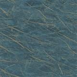 Vliesové tapety na zeď IMPOL Factory 4 mramor modrý se zlatým žíháním