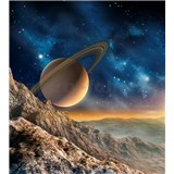 Vliesové fototapety vesmír rozměr 225 cm x 250 cm