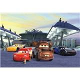 Fototapety Disney Cars 3 stanoviště rozměr 368 cm x 254 cm