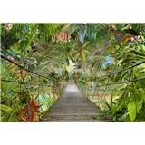 Fototapety most v divočině rozměr 368 cm x 254 cm