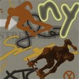 Dětské tapety Graffiti - Ltd. Collection - Street Life - šedozelená - SLEVA-POSLEDNÍ KUS