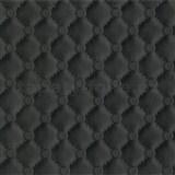 Vliesové tapety na zeď IDEA OF ART imitace koženky s prošíváním a knoflíky černé