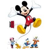 Samolepky na zeď Disney Mickey a přátelé rozměr 50 cm x 70 cm