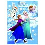 Samolepky na zeď Disney Frozen Anna & Elsa rozměr 50 cm x 70 cm