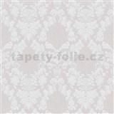 Vliesové tapety na zeď Mixing ornamenty šedé na šedém podkladu