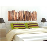 Samolepky na zeď Wood 65 cm x 165 cm
