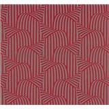 Vliesové tapety na zeď NENA 3D moderní vzor červený - POSLEDNÍ KUSY