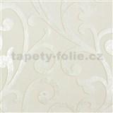 Vliesové tapety na zeď Ornamental Home - ornament bílo-krémový
