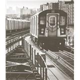 Luxusní vliesové fototapety New York - barevné, rozměr 325,5 cm x 270 cm