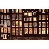 Luxusní vliesové fototapety Amsterdam - barevné, rozměr 418,5 cm x 270 cm