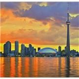 Luxusní vliesové fototapety Toronto - barevné, rozměr 279 cm x 270 cm