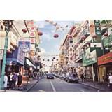 Luxusní vliesové fototapety San Francisco - barevné, rozměr 418,5 cm x 270 cm