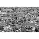Luxusní vliesové fototapety Venice - černobílé, rozměr 418,5 cm x 270 cm