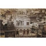 Luxusní vliesové fototapety Delhi - sépie, rozměr 418,5 cm x 270 cm