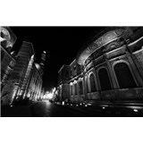 Luxusní vliesové fototapety Cairo - černobílé, rozměr 418,5 cm x 270 cm