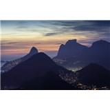 Luxusní vliesové fototapety Rio de Janeiro - barevné, rozměr 418,5 cm x 270 cm
