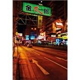 Luxusní vliesové fototapety Tokyo - barevné, rozměr 186 cm x 270 cm