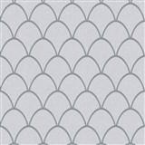 Vliesové tapety na zeď New Spirit skandinávský vzor, světle šedé se stříbrnými odlesky a třpytkami