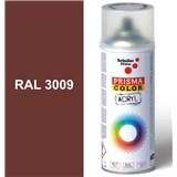 Sprej oxid.červený lesklý 400ml odstín RAL 3009 barva oxid.červená lesklá