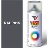 Sprej břidlicově šedý lesklý 400ml odstín RAL 7015 barva břidlicová šedá lesklá