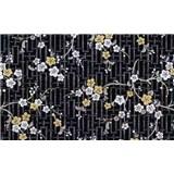Samolepící tapety orientální květ - 67,5 cm x 15 m