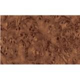 Samolepící tapety dřevo palisandr tmavý - 45 cm x 15 m