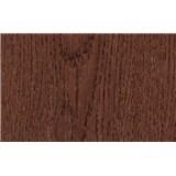 Samolepící tapety dubové dřevo načervenalé - 45 cm x 15 m