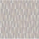 Vliesové tapety IMPOL Carat 2 retro vzor stříbrno-béžový