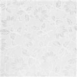 Samolepící tapety transparentní květy Damast 45 cm x 15 m