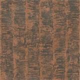 Luxusní vliesové tapety na zeď G.M.Kretschmer Deluxe pruhy měděné na šedém podkladu