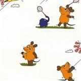 Tapety na zeď Die Maus myška a přátelé sportují