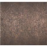 Vliesové tapety na zeď Estelle metalická bronzová