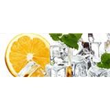 Vliesové fototapety citrón a led rozměr 375 cm x 150 cm