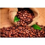 Vliesové fototapety kávová zrnka rozměr 375 cm x 250 cm