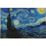 Vliesové fototapety hvězdná noc - Vincent Van Gogh rozměr 375 cm x 250 cm