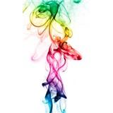 Vliesové fototapety kouř barevný rozměr 150 cm x 250 cm