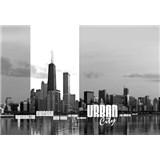 Vliesové fototapety Urban City rozměr 312 cm x 219 cm
