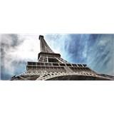 Vliesové fototapety Eiffelova věž v Paříži rozměr 250 cm x 104 cm