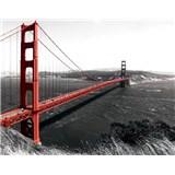Vliesové fototapety Golden Gate Bridge rozměr 208 cm x 146 cm