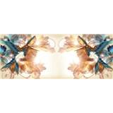Vliesové fototapety kolibříci rozměr 250 cm x 104 cm