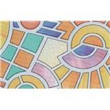 Samolepící tapety transparentní Nimes - 90 cm x 15 m