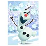 Samolepky na zeď Disney Frozen Olaf rozměr 50 cm x 70 cm