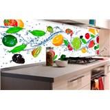 Samolepící tapety za kuchyňskou linku ovoce rozměr 180 cm x 60 cm