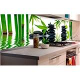 Samolepící tapety za kuchyňskou linku ZEN kameny rozměr 180 cm x 60 cm