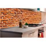 Samolepící tapety za kuchyňskou linku staré cihly rozměr 180 cm x 60 cm