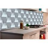 Samolepící tapety za kuchyňskou linku 3D kostky rozměr 180 cm x 60 cm