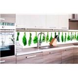 Samolepící tapety za kuchyňskou linku bylinky rozměr 260 cm x 60 cm