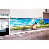 Samolepící tapety za kuchyňskou linku rozkvetlý strom rozměr 260 cm x 60 cm