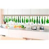 Samolepící tapety za kuchyňskou linku bylinky rozměr 350 cm x 60 cm
